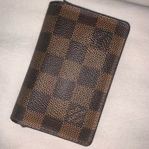 Authentic Louis vuttion card holder